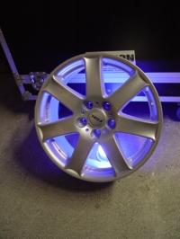 Akku-LED-Alufelge