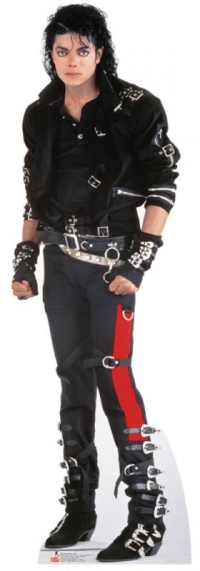 Pappaufsteller Michael Jackson Bad lebensgroß - Tagesmiete - Mieten