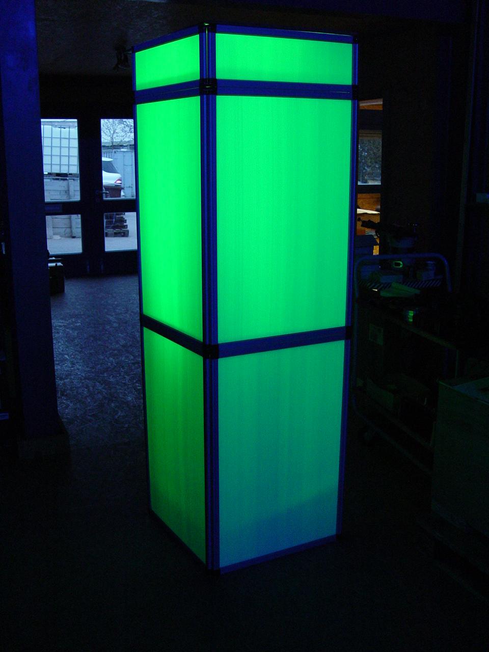 Led leuchtkasten 2m tagesmiete mieten for Leuchtkasten deko