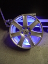Alu-Felge mit Akku-LED-Modul - Tagesmiete - Mieten