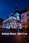 07-Fotodruck auf Leinwand 100x75 cm - Mayen Altes Rathaus