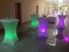 Akku-LED-Stehtischbeleuchtung - Tagesmiete - Mieten
