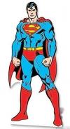 Pappaufsteller Superman lebensgroß - Tagesmiete - Mieten