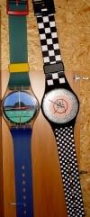 MaxiSwatch Riesenarmbanduhr,80er Wanddeko Tagesmiete - Mieten