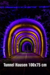 13-Fotodruck auf Leinwand 100x75 cm - Tunnel Hausen
