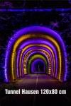 14-Fotodruck auf Leinwand 120x80 cm - Tunnel Hausen